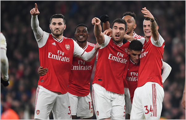 arsenal manchester united 2019 premier league