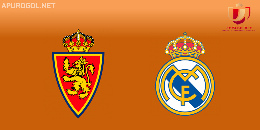 Real Zaragoza vs Real Madrid en VIVO ONLINE - Copa del Rey 2019-2020 en DIRECTO Octavos de Final