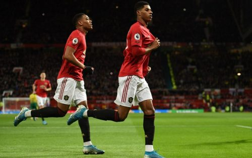 Resultado Final – Manchester United 4 Norwich 0 – Premier League 2019-2020 Fecha 22