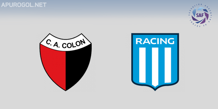 Colón vs Racing en VIVO ONLINE - Superliga 2019-2020 en DIRECTO Fecha 20