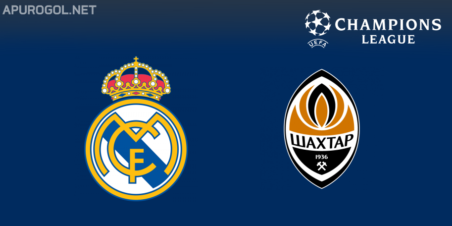 Real Madrid vs Shakhtar en VIVO ONLINE - UEFA Champions League 2020-2021 en DIRECTO Grupo B